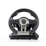 Gaming-stuurwiel | Optie handmatig schakelen | Voetpedalen | Haptische feedback