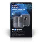 Gaming-luidsprekers   2.1   Over USB gevoed   3,5 mm jack   RMS 11W