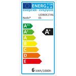Dimbare LED-Lamp E27 | A60 | 5,5 W | 470 lm