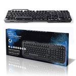 Gaming-toetsenbord | RGB-verlichting | USB 2.0 | Scandinavisch | Metalen design