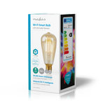 Slimme Wi-Fi-LED-lamp Met Filament | E27 | ST64 | 5 W | 500 lm
