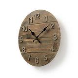 Ronde wandklok | Diameter 30 cm | Hout_