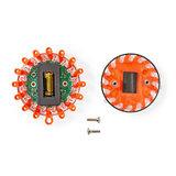 Noodlamp 9-in-1 - 10 patronen - Zichtbaar tot op 15 km afstand_