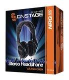 Semiprofessionele hoofdtelefoon Over-Ear 3.5 mm 2.5 m Zwart_