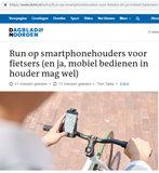 Smartphonehouder voor de Fiets | Universeel_