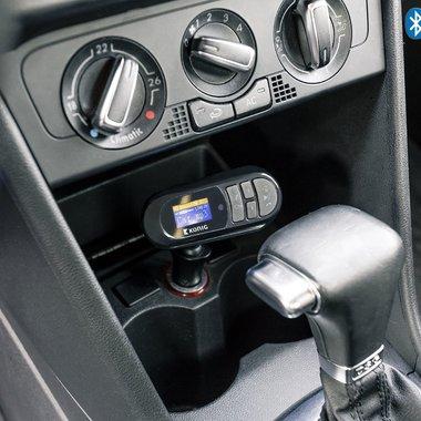 FM Audiozender Bluetooth 3.5 mm Zwart