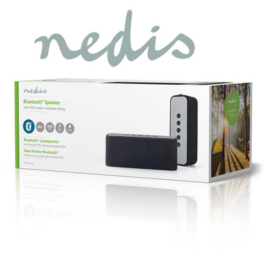 Luidspreker met Bluetooth® | 2x 30 W | True Wireless Stereo (TWS) | Waterbestendig | Zwart