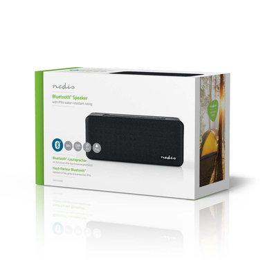 Luidspreker met Bluetooth® | 30 W | Waterbestendig | Equalizer - Zwart of hout