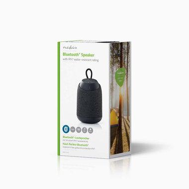 Luidspreker met Bluetooth® | 15 W | Waterbestendig | Draaglus | Grijs