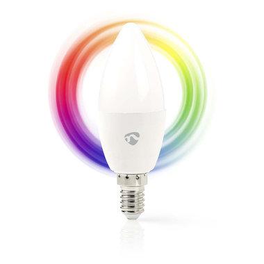Wi-Fi smart LED-lamp | Full Colour en Warm-Wit | E14