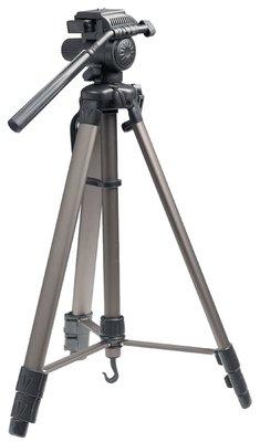 Camera/Video Statief Pan & Tilt 161 cm Zwart/Zilver