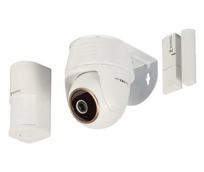 Full HD Smart IPcam-Set Binnen 1920x1080 Wit