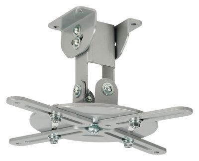 Projector Plafondbeugel Draai- en Kantelbaar 10 kg Zilver