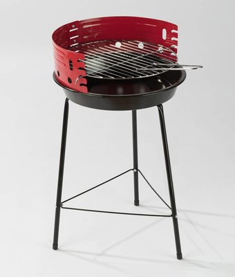Staande grill hoogte 53,5 cm kookhoogte 46-53 cm