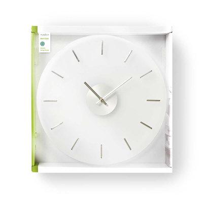 Ronde wandklok | Diameter 40 cm | Elegant | Glas