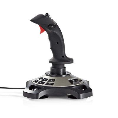 Gaming-joystick | Haptische feedback | Gevoed over USB | Werkt met USB-apparaten