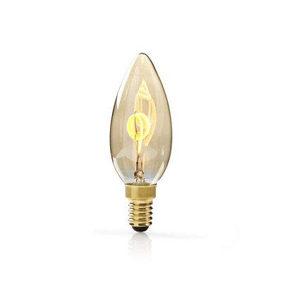 Dimbare vintage LED-gloeilamp E14 | Kaars | 3 W | 100 lm