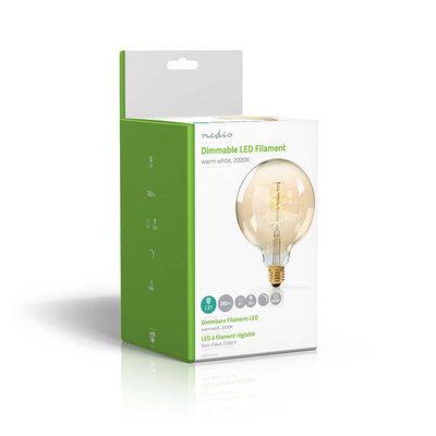 Dimbare vintage LED-gloeilamp E27 | G125 | 5 W | 260 lm