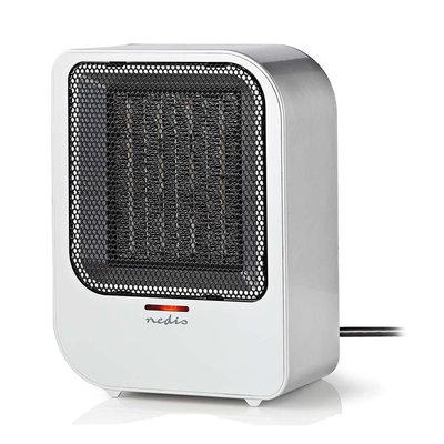 Keramische ventilatorkachel | 750 & 1500 W | Grijs