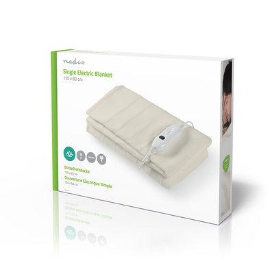 Electrische Deken | 80 x 150 cm | 3 Verwarmingsstanden | Indicatorlampje | Beveiliging tegen Oververhitting