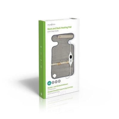 Verwarmingskussen | 38 x 65 cm | 6 Verwarmingsstanden | Digitale Besturing | Beveiliging tegen Oververhitting