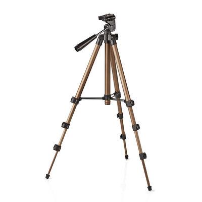 Driepoot statief| Pannen en kantelen | Max. 1,5 kg | 105 cm | Zwart / zilver