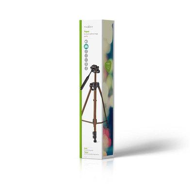 Driepoot statief | Pannen en kantelen | Max. 3 kg | 145 cm | Brons