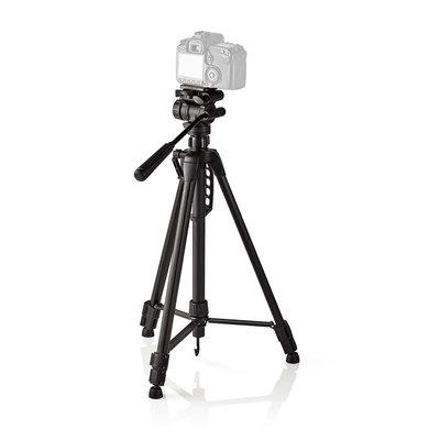 Driepoot statief | Pannen en kantelen | Max. 3 kg | 165 cm | Zwart