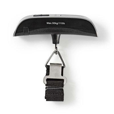 Digitale Bagageweegschaal | 50 kg / 110 lbs | Thermometer