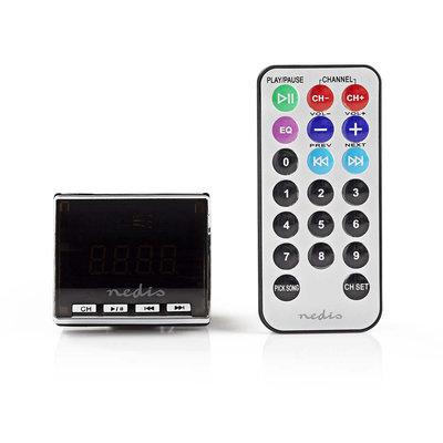 Auto-FM-zender | 3,5 mm ingang | microSD-kaartsleuf