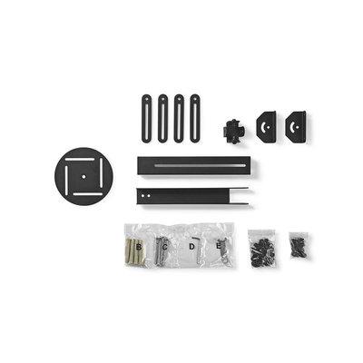Muurbeugel voor Projector | 360° Draaibaar | Max. 10 kg | Afstand tot de Muur 314 - 500 mm | Zwart