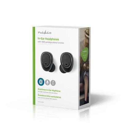 Draadloze hoofdtelefoon | Bluetooth® | In-ear | True Wireless Stereo (TWS) | Oplaadstation