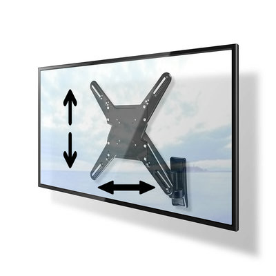Draaibare- en in hoogte verstelbare TV-muurbeugel | 29 - 55