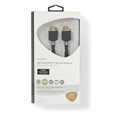3.0 Meter Hoge kwaliteit High Speed HDMI™-kabel met Ethernet | HDMI™-connector - HDMI™-connector