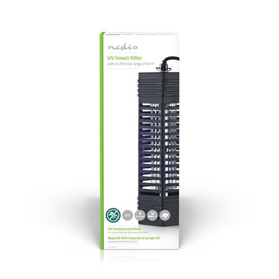 Muggenlamp - Lichtval tegen muggen | 6 W | Dekking van 50 m²