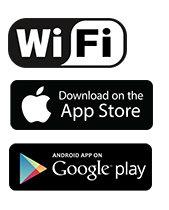 Wi-Fi Smart Videodeurbel - 2- zijdige communicatie | Bediening via App | microSD-Sleuf | HD 720p