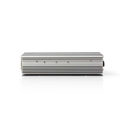 Stroomomvormer Gemodificeerde Sinusgolf | 12 V DC - 230 V AC | 600 W | 1x Schuko-Uitgang | Oplaadfunctie