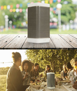 Bluetooth-Speaker 2.0 Voyager 20 W Wit/Antraciet