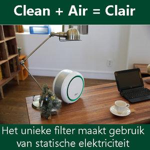 Luchtreiniger 2.4 W Wit/Groen