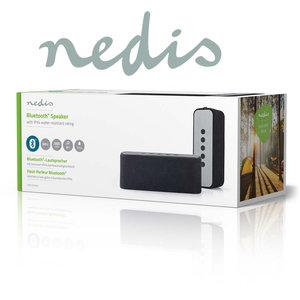 Luidspreker met Bluetooth® | 2x 30 W | True Wireless Stereo (TWS) | Waterbestendig | Zwart