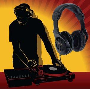 Semiprofessionele hoofdtelefoon Over-Ear 3.5 mm 2.5 m Zwart
